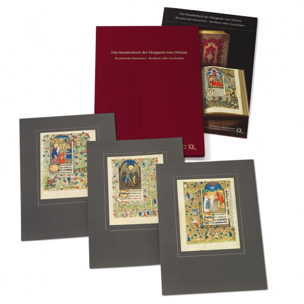Stundenbuch der Margarete von Orléans - Faksimilemappe