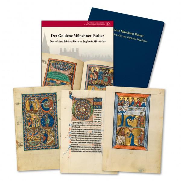 Der Goldene Münchner Psalter - Faksimilemappe