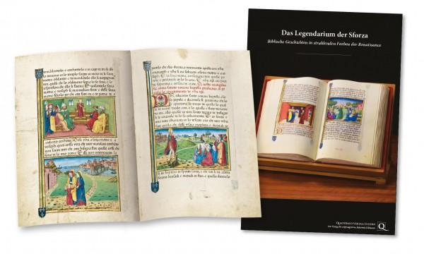 Das Legendarium der Sforza - Faksimilemappe