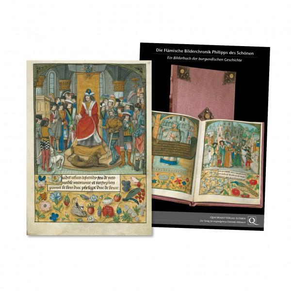 Die Bilderchronik Philipps des Schönen - Faksimilemappe