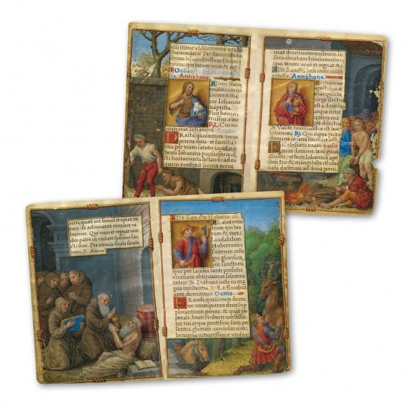 Das Gebetbuch der Claude de France - Faksimilemappe