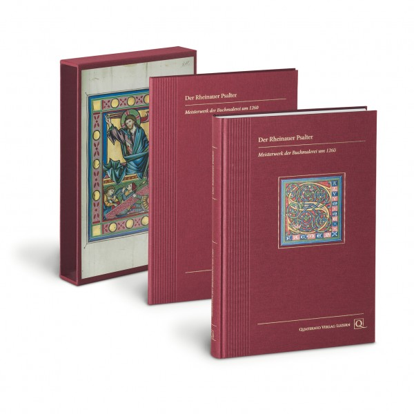 Der Rheinauer Psalter - Kunstbuch